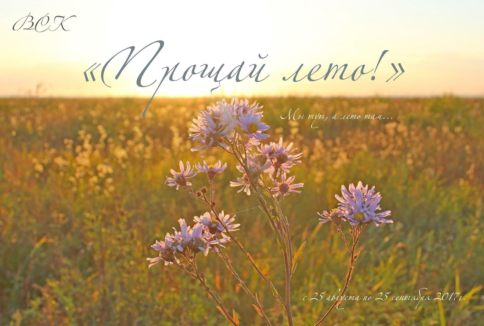 Красивых открыток, открытка лето на исходе