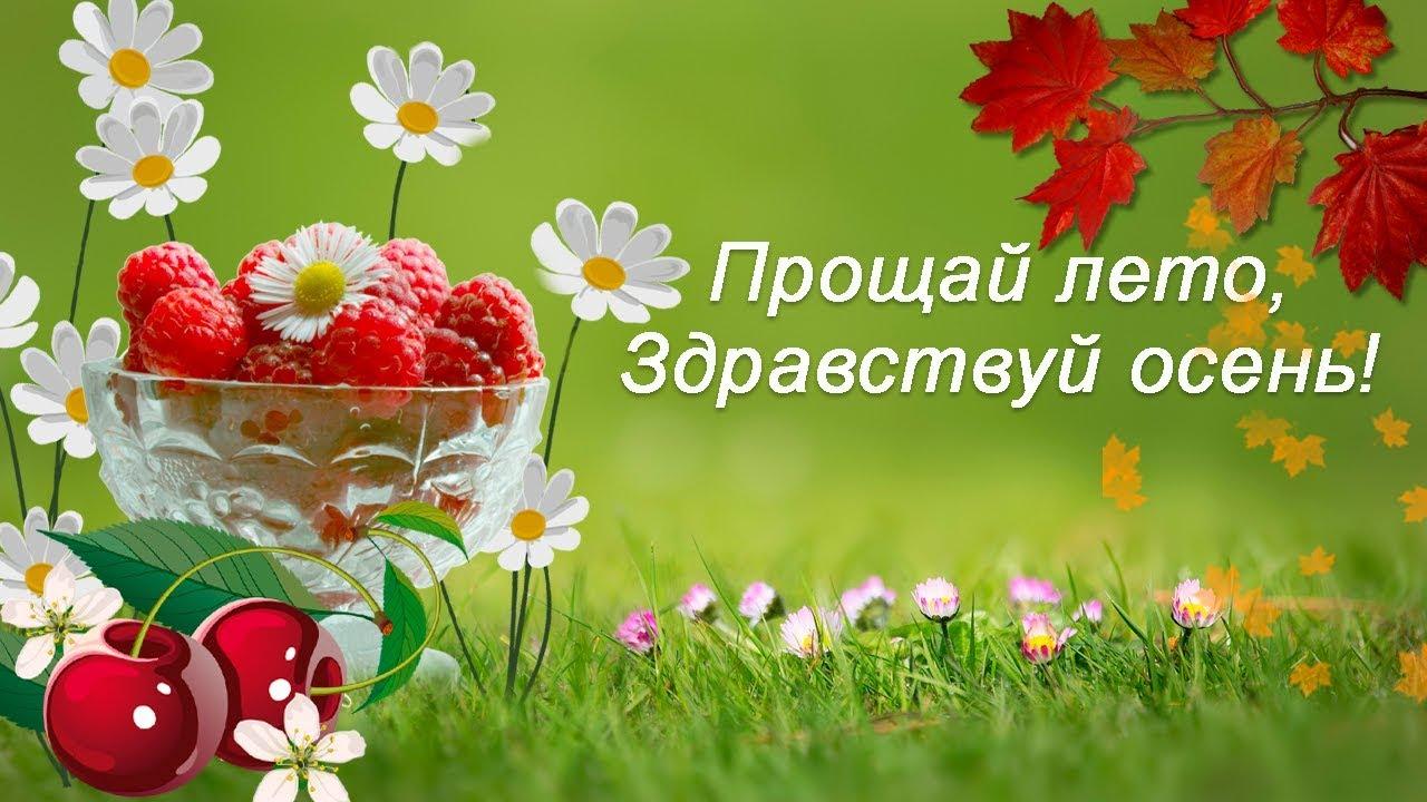 Картинки на тему Прощай лето (18)