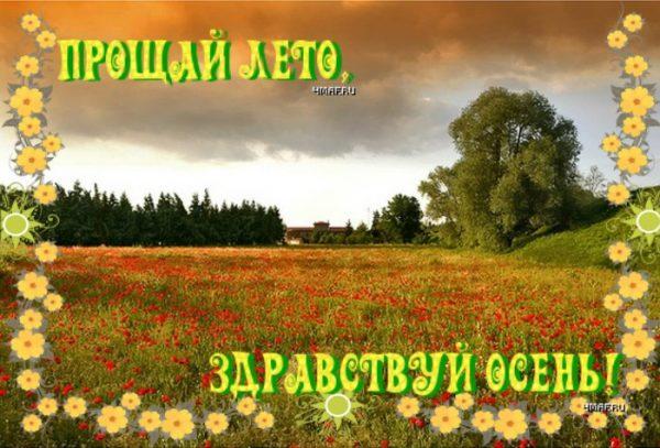 Картинки на тему Прощай лето (5)