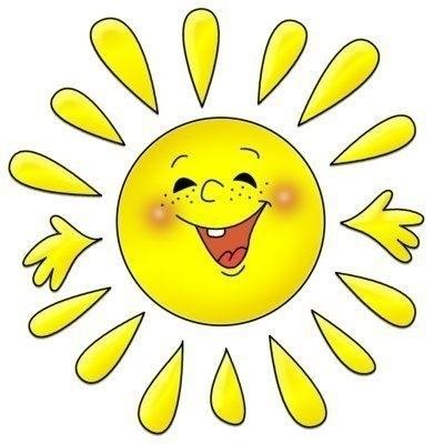 Картинки солнышко для детей 005