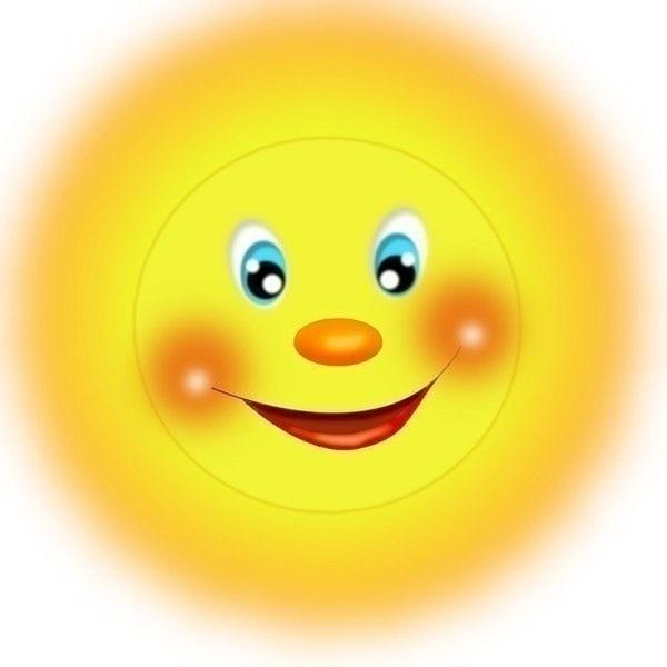Картинки солнышко для детей 009