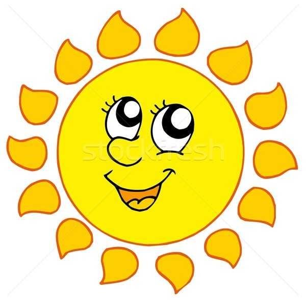 Картинки солнышко для детей 014
