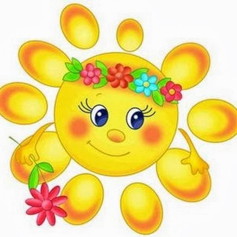 Картинки солнышко для детей 024