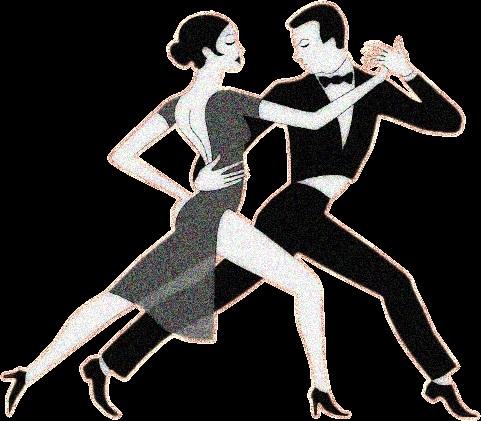 Картинки танцы нарисованные 008