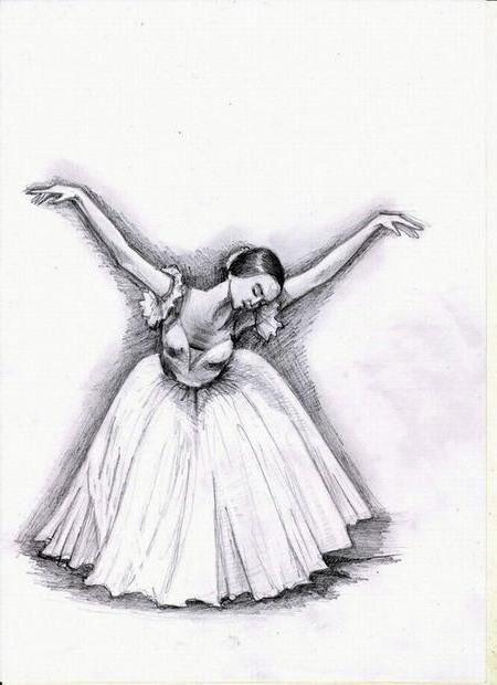 Картинки танцы нарисованные 012