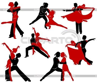 Картинки танцы нарисованные 013