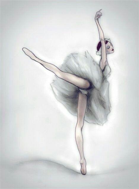 Картинки танцы нарисованные 014