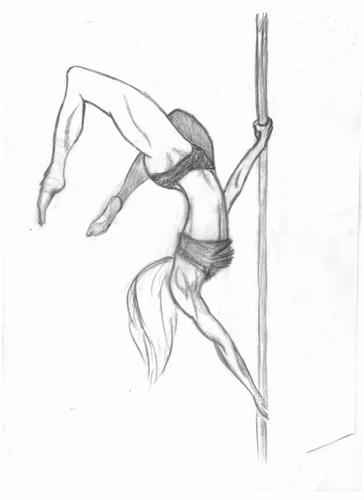 Картинки танцы нарисованные 018