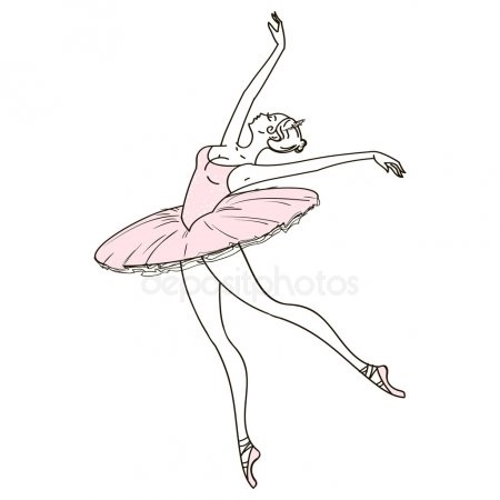 Картинки танцы нарисованные 020