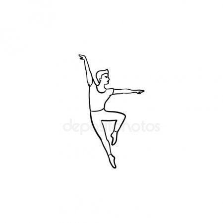 Картинки танцы нарисованные 023