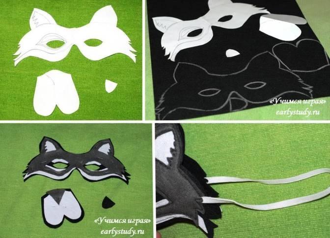 Классные маски из фетра 013