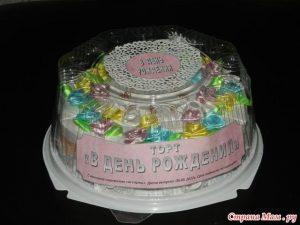 Классный тортик для мамы и дочки 009