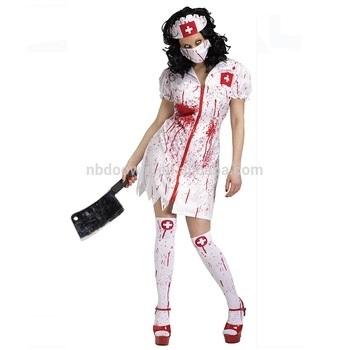 Костюм зомби на хэллоуин 003