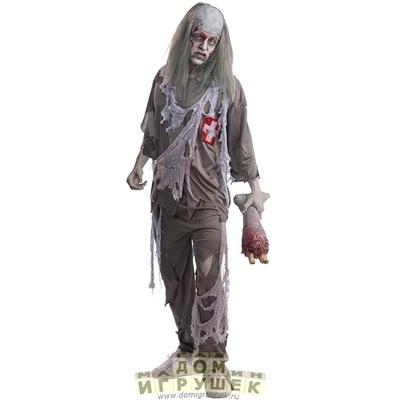 Костюм зомби на хэллоуин 004