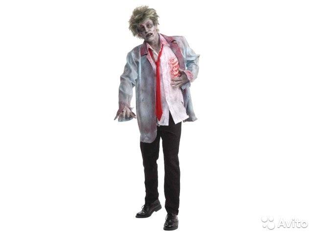 Костюм зомби на хэллоуин 005