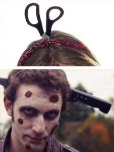 Костюм зомби на хэллоуин 006