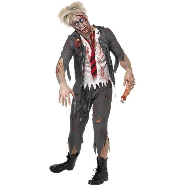Костюм зомби на хэллоуин 010