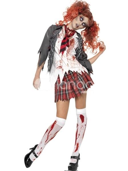 Костюм зомби на хэллоуин 017
