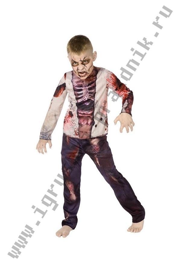 Костюм зомби на хэллоуин 019