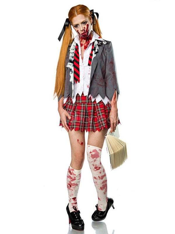 Костюм зомби на хэллоуин 020