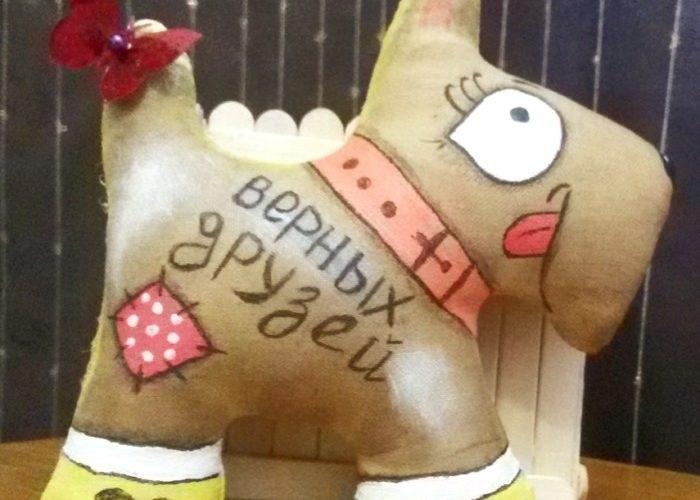 Кофейные собачки мастер класс 012