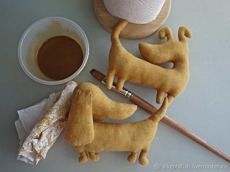 Кофейные собачки мастер класс 013