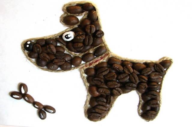 Кофейные собачки мастер класс 019