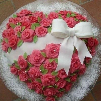 Красивый кремовый торт для папы 017