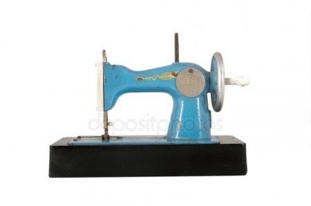 Красивый рисунок швейной машинки 003