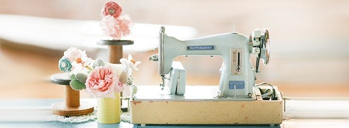 Красивый рисунок швейной машинки 013