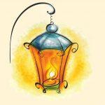 Красивый эскиз фонаря — подборка картинок