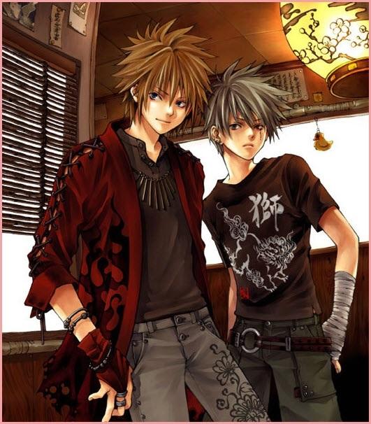 Крутые картинки аниме парней 022