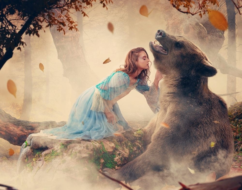 Медведь красивые арты 002