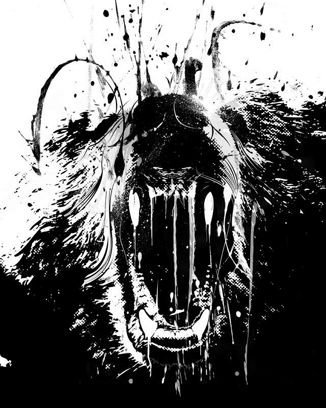 Медведь красивые арты 003
