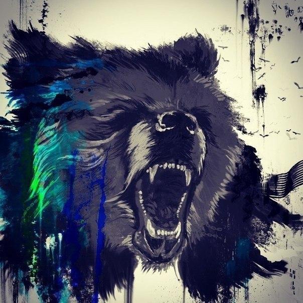 Медведь красивые арты 008