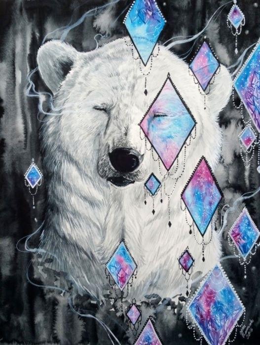 Медведь красивые арты 009
