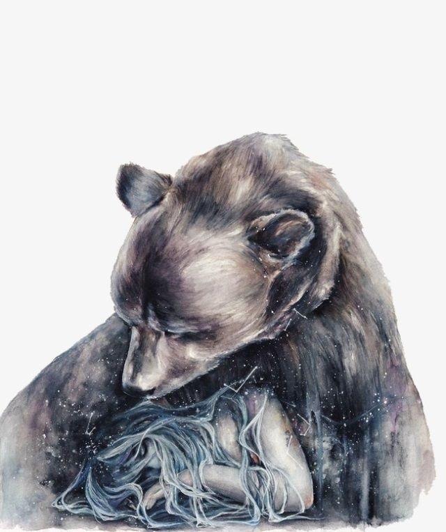 Медведь красивые арты 014