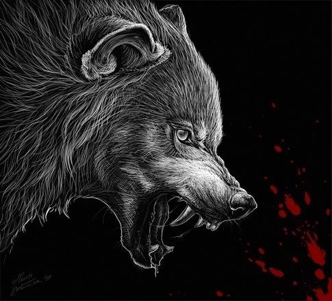 Медведь красивые арты 019