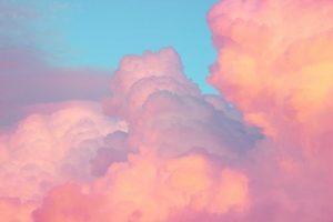 Небо нежно розовое 007