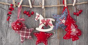 Новогодние текстильные игрушки 004