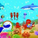 Обитатели подводного мира картинки для детей