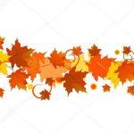 Орнамент из осенних листьев картинки и фото