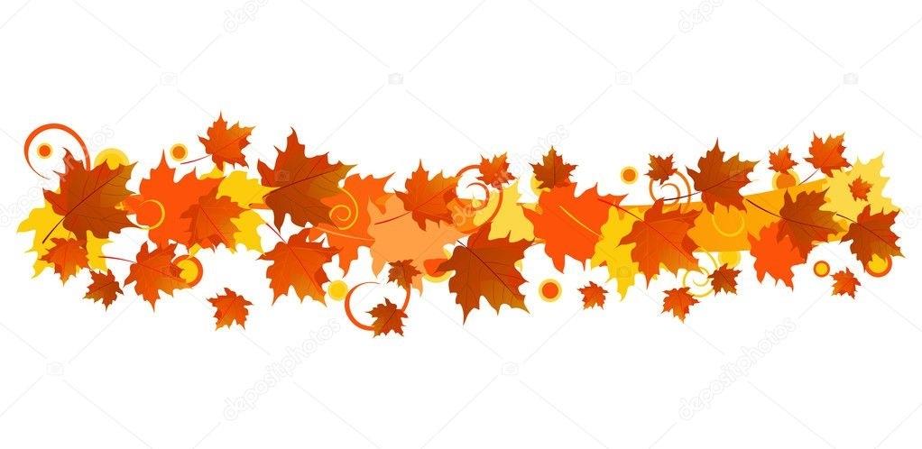 Орнамент из осенних листьев картинки и фото 013