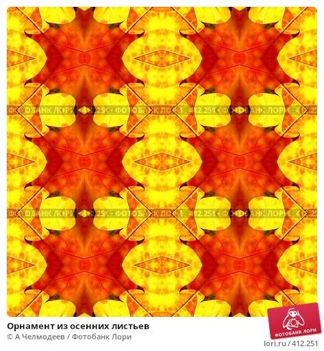 Орнамент из осенних листьев картинки и фото 022