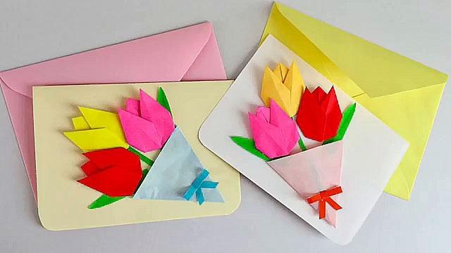 Поздравление, красивые открытки своими руками на день рождения бабушке
