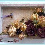 Панно из сухоцветов своими руками — красивые картинки
