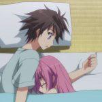Парень и девушка спят аниме картинки