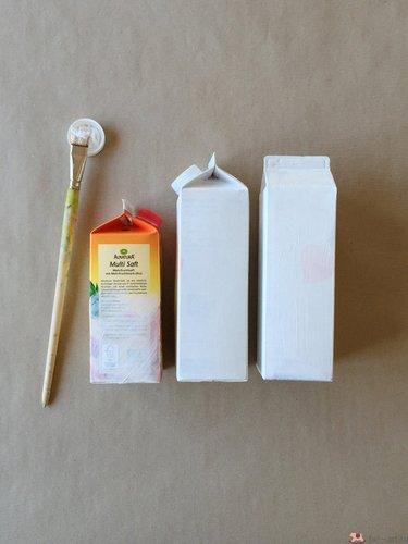 Поделки из коробок молока подборка (16)