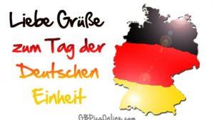 Поздравления в открытках День германского единства 014