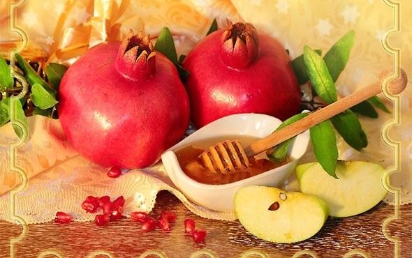 Поздравления в открытках на Рош аШана — еврейский Новый Год 015
